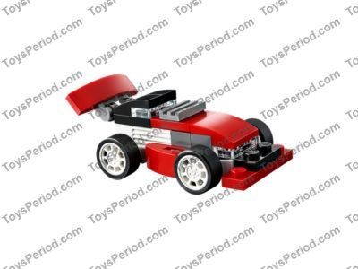 Lego 31055 Red Racer Set Parts Inventory And Instructions Lego