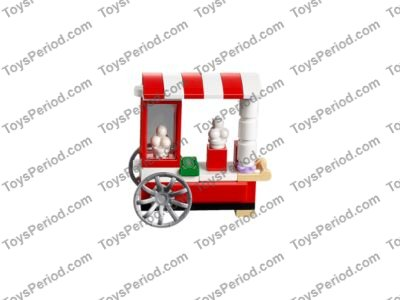 LEGO 41130 Amusement Park Roller Coaster Set Parts Inventory