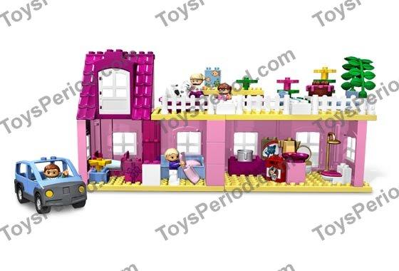 lego duplo playhouse instructions