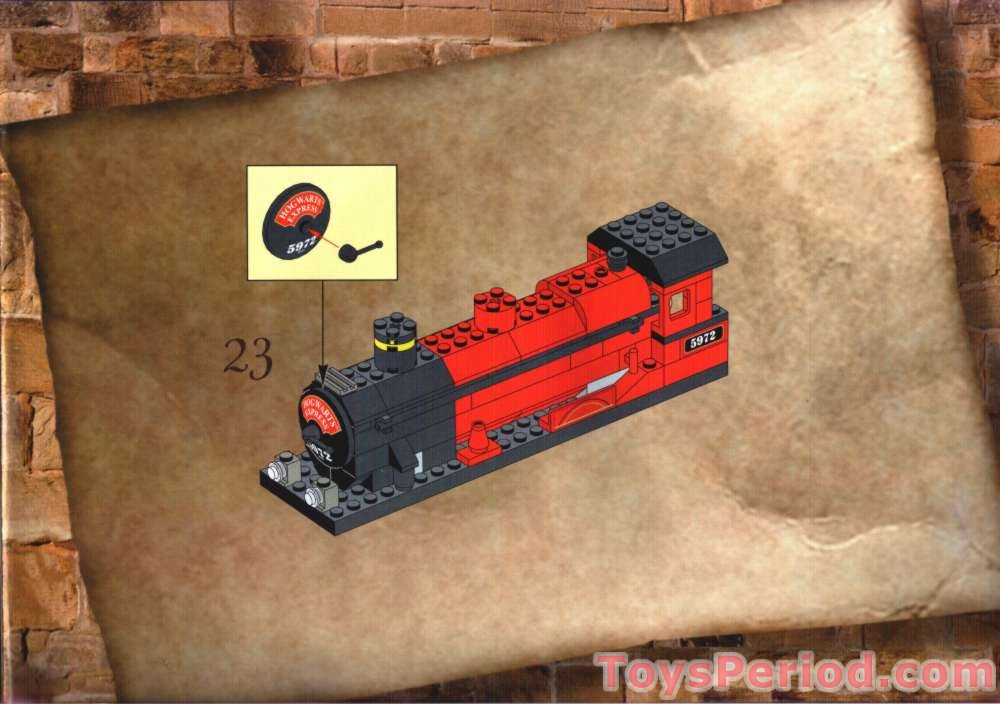 Lego 4708 Hogwarts Express Set Parts Inventory And Instructions