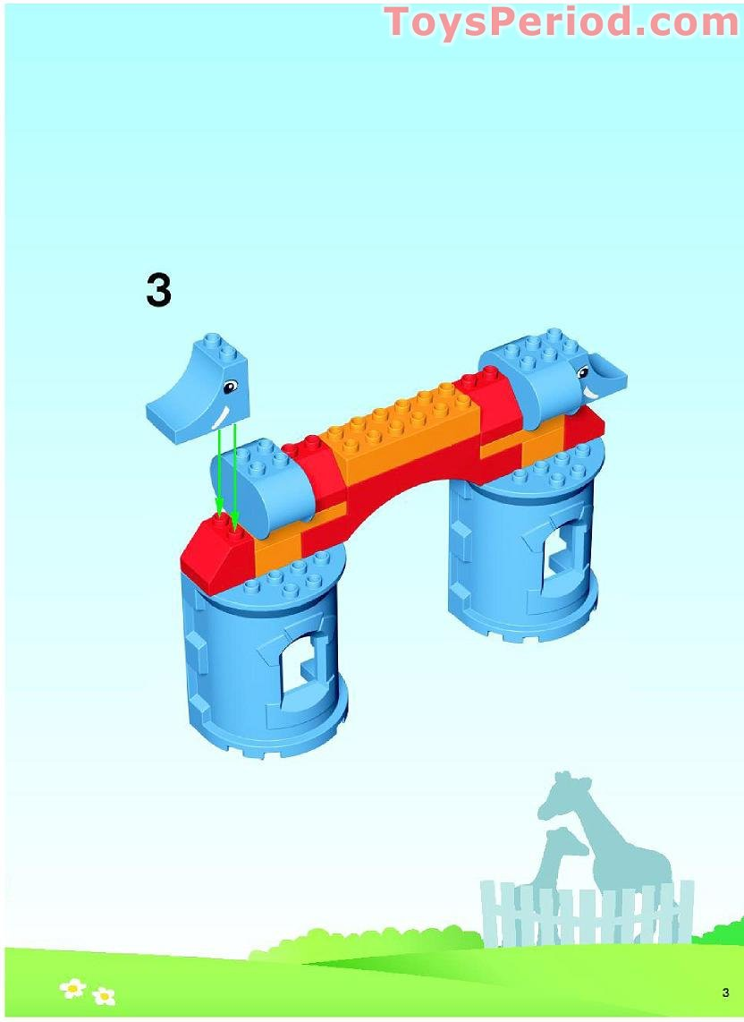 Duplo Zoo Set Instructions
