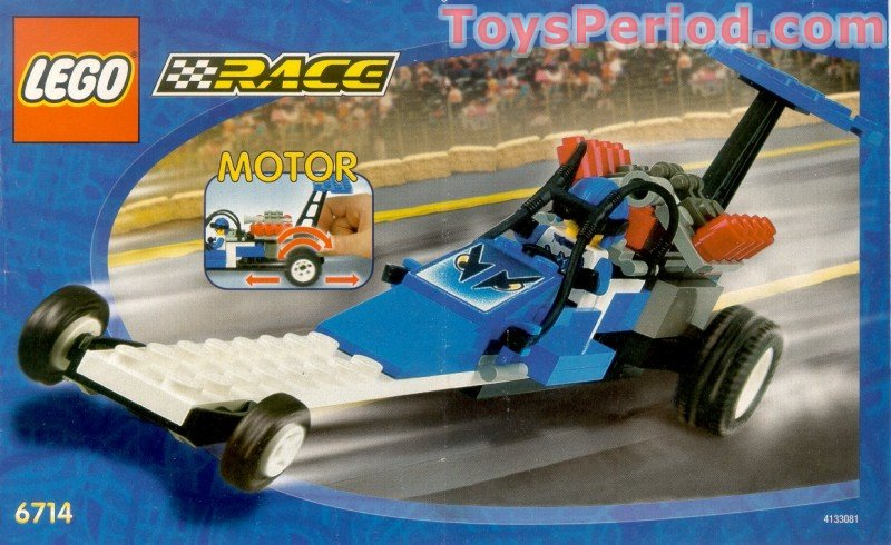 lego  speed dragster set parts inventory