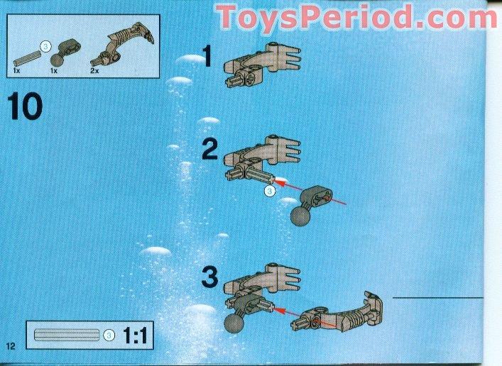Lego 8917 Kalmah Set Parts Inventory And Instructions Lego