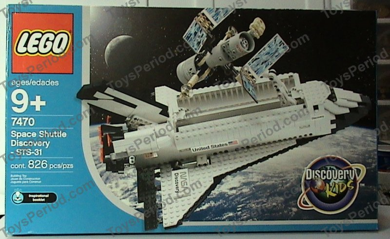 lego space shuttle parts list - photo #17