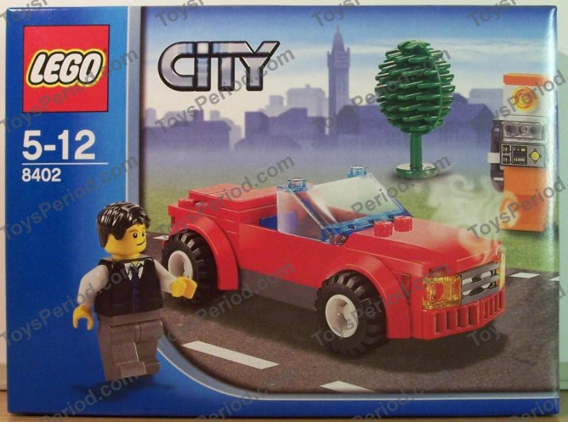 Lego 8402 Sports Car Set Parts Inventory And Instructions Lego