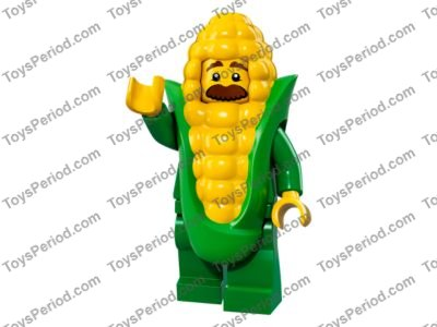 Lego Hair Long Straight x 1 Pearl Gold Parted /& Swept Back Over Shoulders