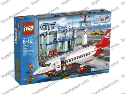 LEGO 3182 Airport Set Parts Inventory and Instructions - LEGO ...