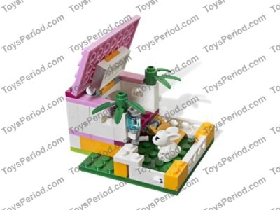 Lego 3938 Andreas Bunny House Set Parts Inventory And Instructions