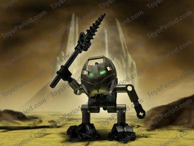 C160 Lego 8542 Bionicle Mata Nui Turaga Onewa complet no rubber de 2001