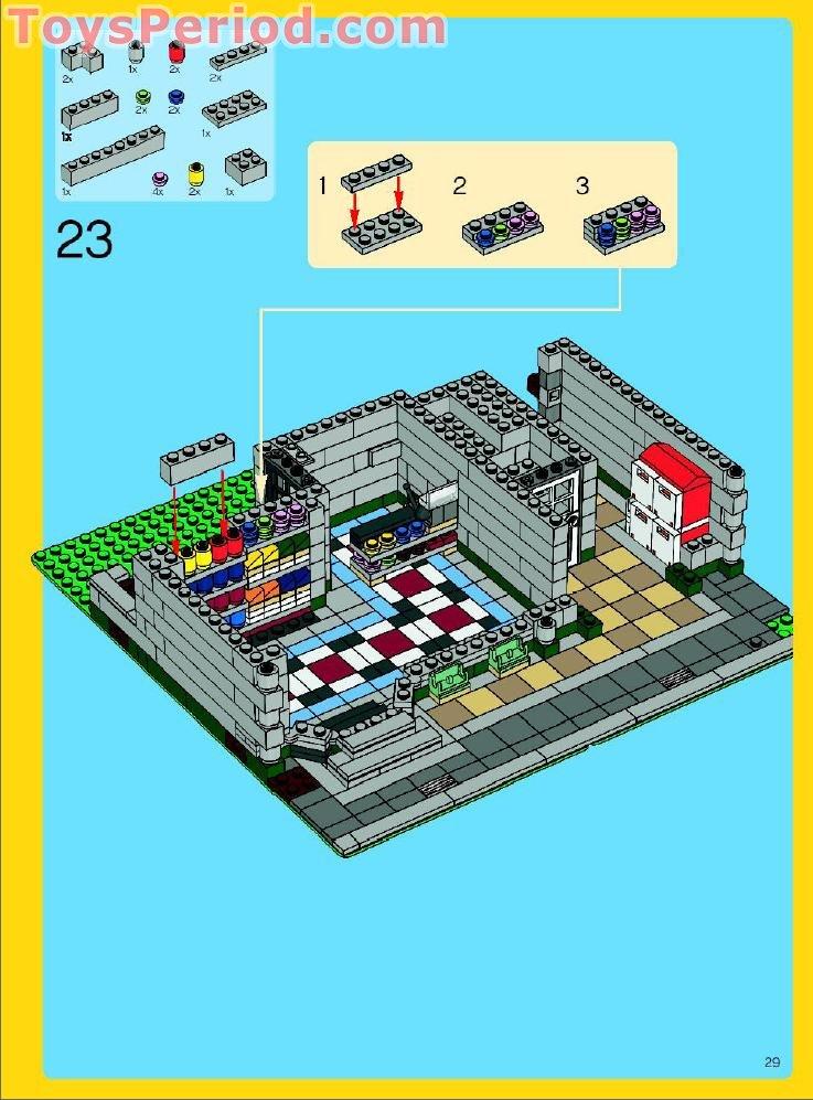 Door 1 x 4 x 6 Frame Type 2 in Black 4x Lego part no 60596