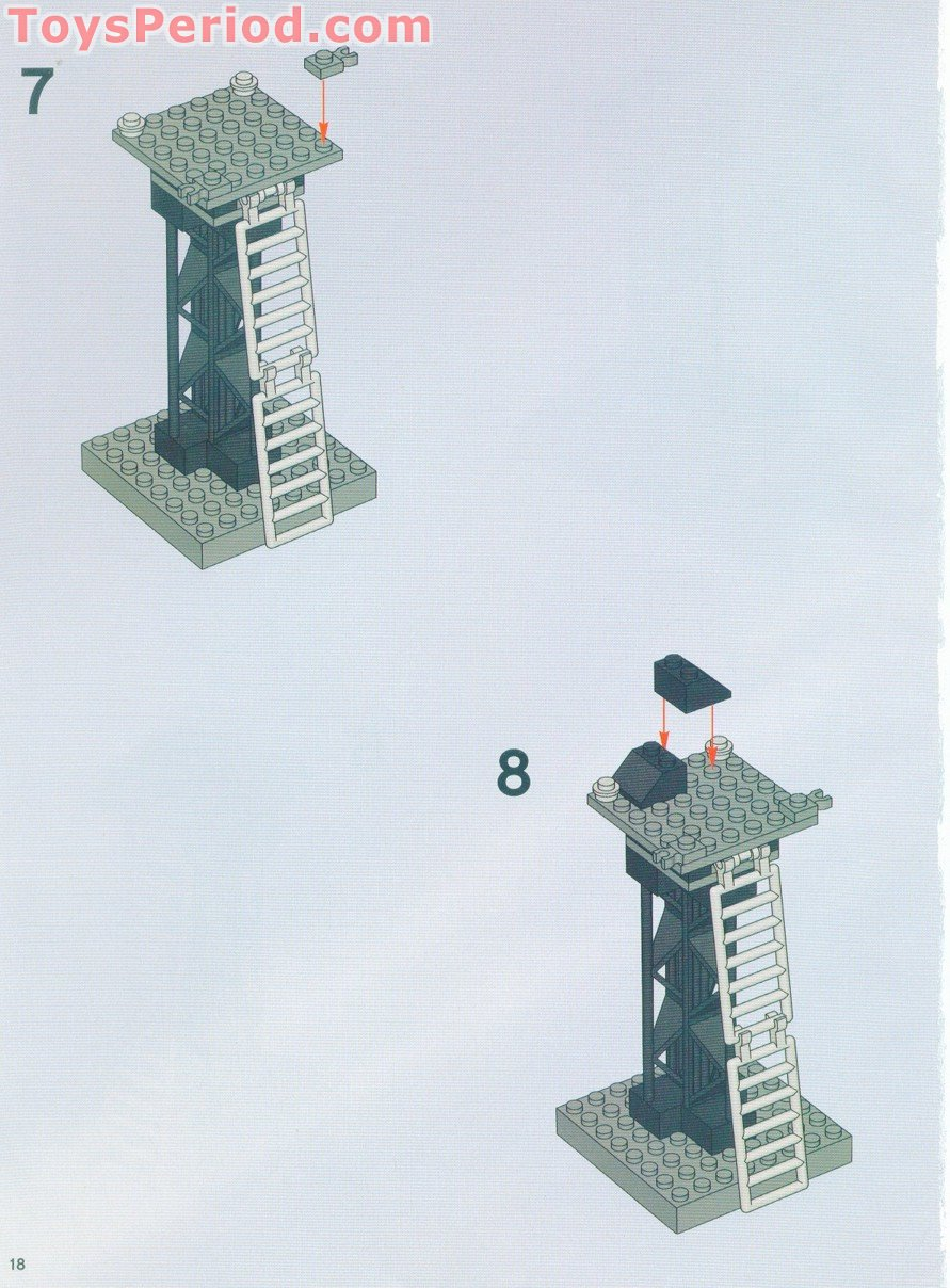 lego arkham asylum instructions