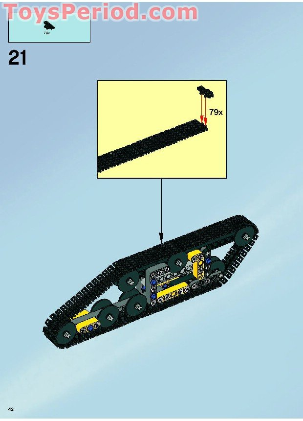 lego technic tank instructions