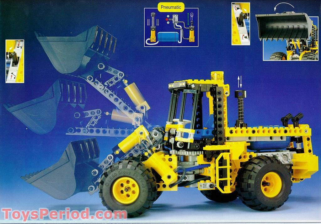 Free Building Instruction Scan Download For LEGO 8464