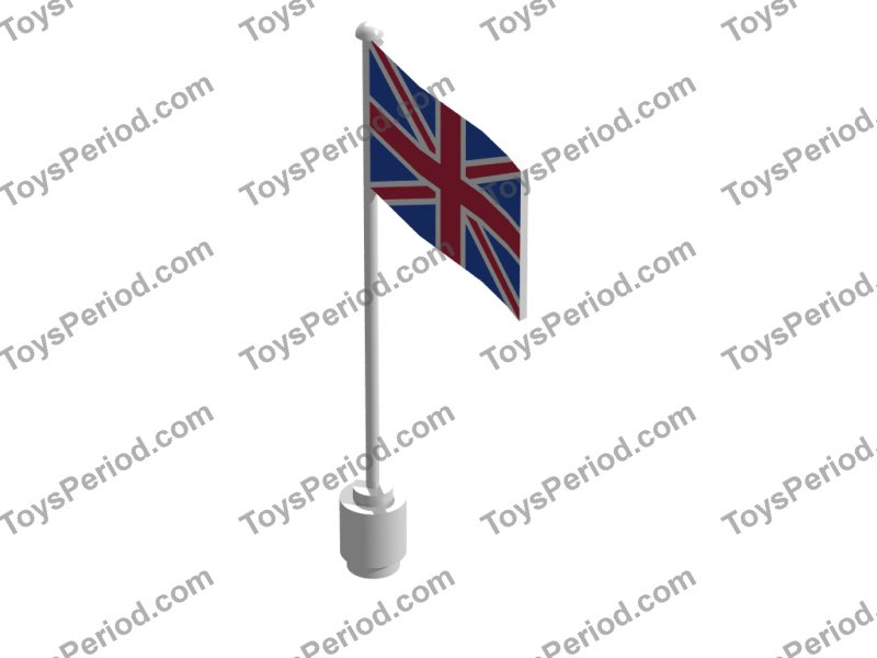 LEGO Sets with Part 777p11 Flag on Flagpole Type 2 with