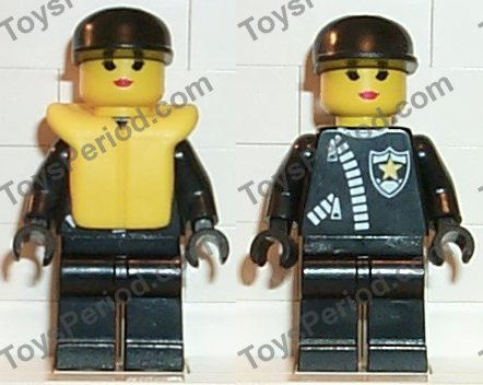 Lego 6 x Life jackets Part 2610 Minifigure accessory life jacket yellow city