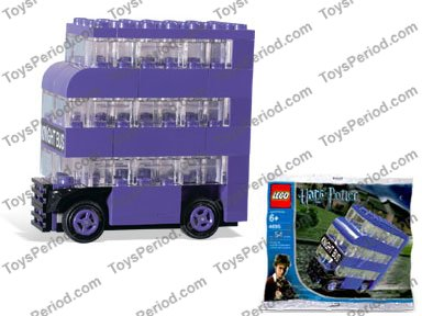 Knight Bus Mini INSTRUCTION MANUAL HARRY POTTER Instructions for 4695