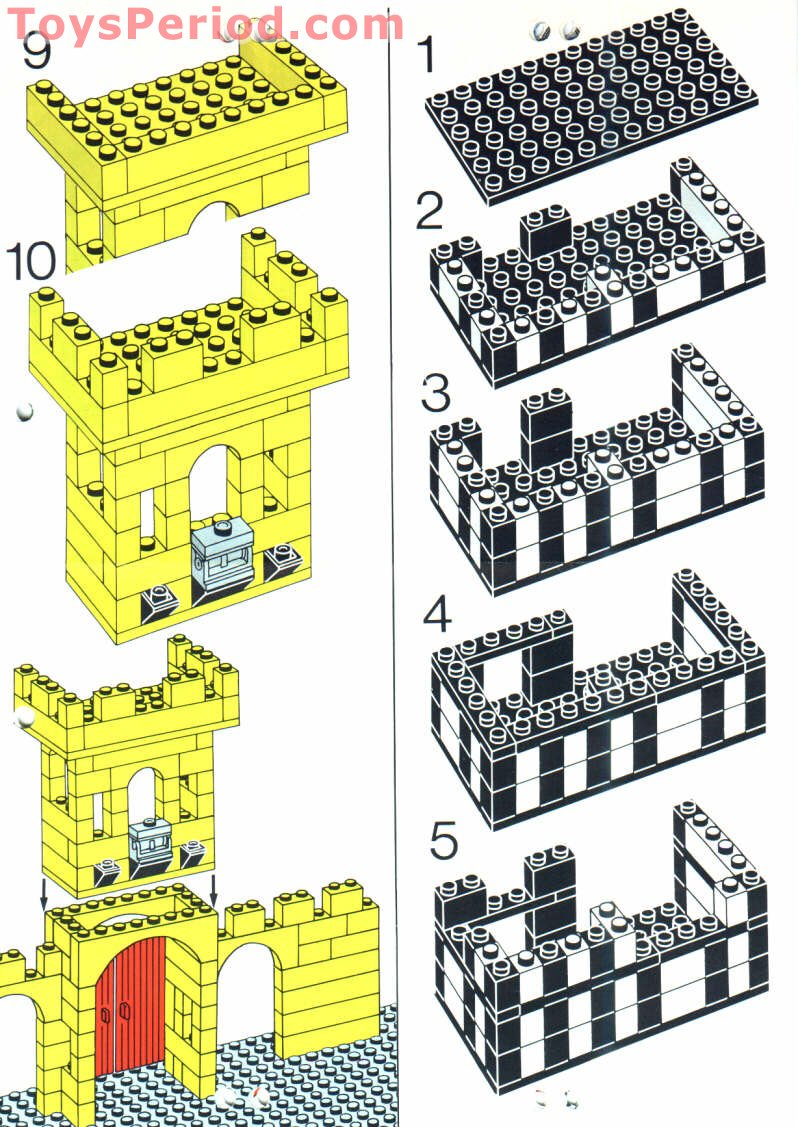 how to build a lego castle easy