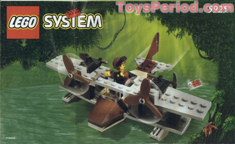 Lego 5925 Pontoon Plane Set Parts Inventory And