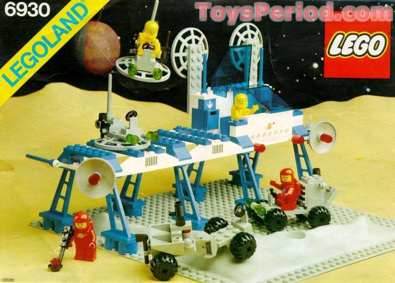 Lego 6930 Space Supply Station Set Parts Inventory And
