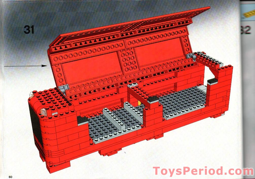 lego scuderia ferrari truck instructions