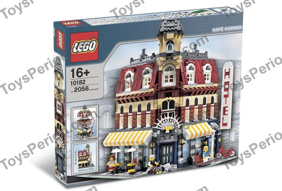 LEGO 10182 Cafe Corner (Café Corner) Set Parts Inventory and ...