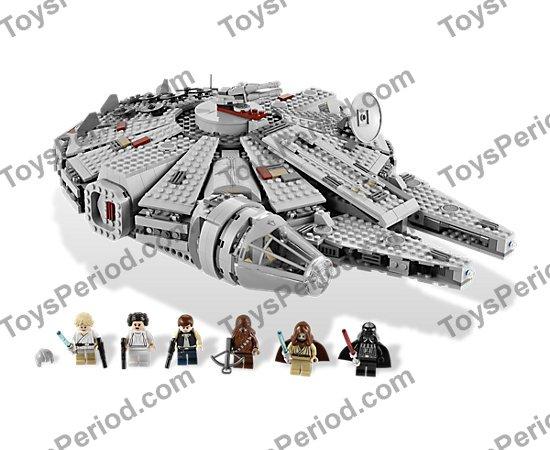 Lego 7965 Millennium Falcon Set Parts Inventory And Instructions