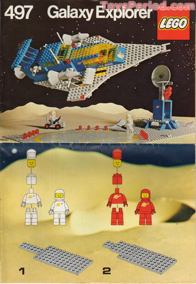 Lego Spaceship Building Instructions Choice Image Form 1040