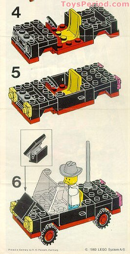 Lego 6627 Convertible Set Parts Inventory And Instructions