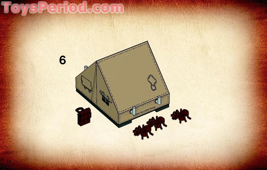 Lego Instructions Indiana Jones Tent