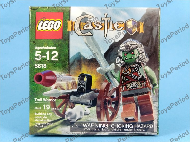 *BRAND NEW* LEGO Castle Troll Warrior 5618