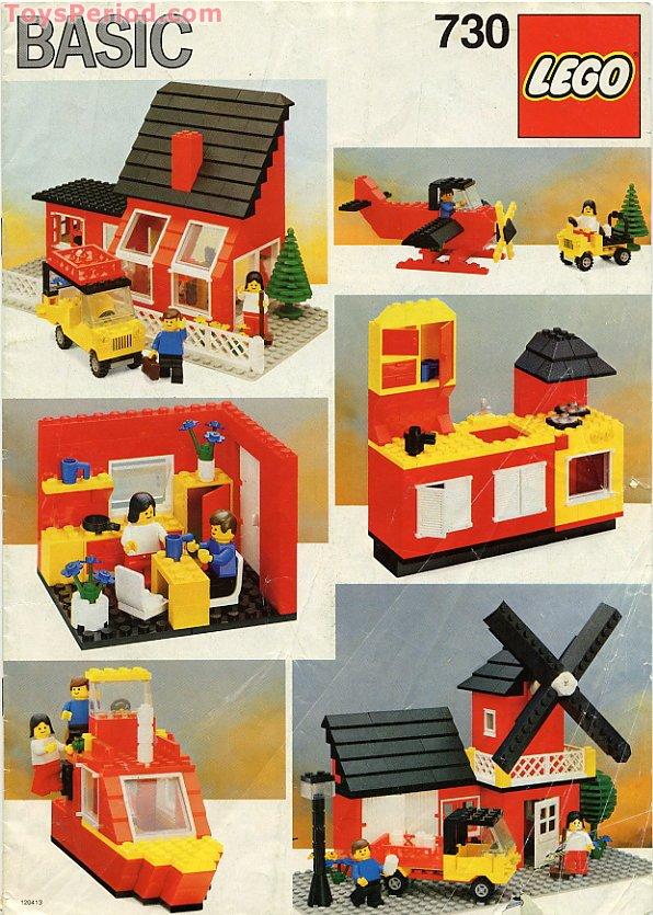 Lego 730 2 Basic Building Set Set Parts Inventory And