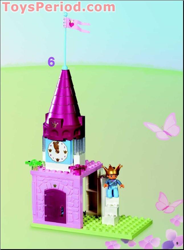 Lego 4820 Princess Palace Set Parts Inventory And