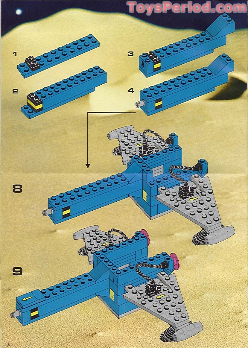 Lego 6931 Fx Star Patroller Set Parts Inventory And