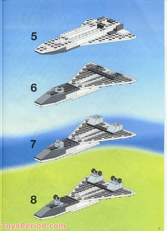 lego mini space shuttle instructions - photo #19