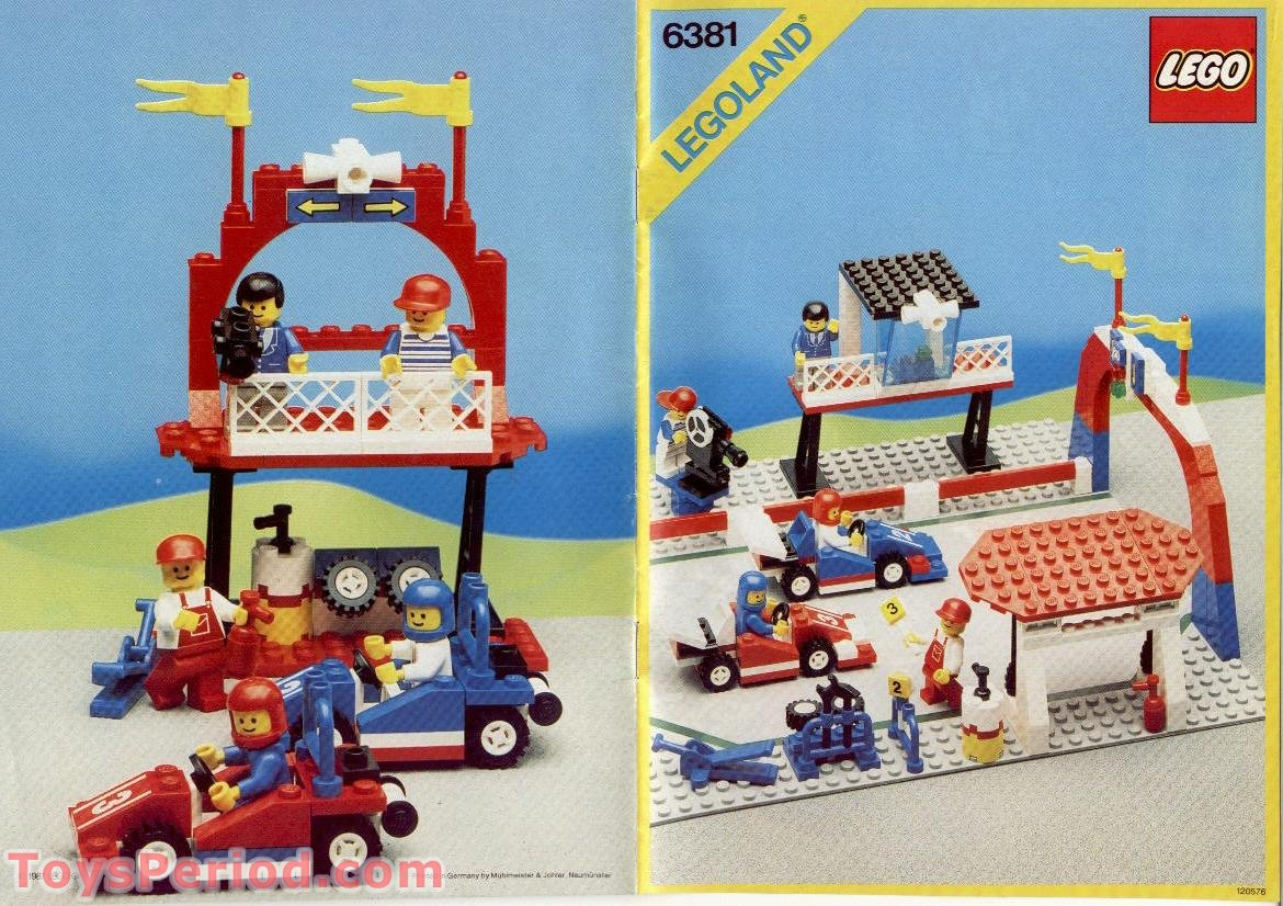 lego city race car instructions