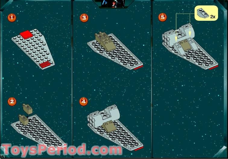 lego instructions x wing fighter 6212