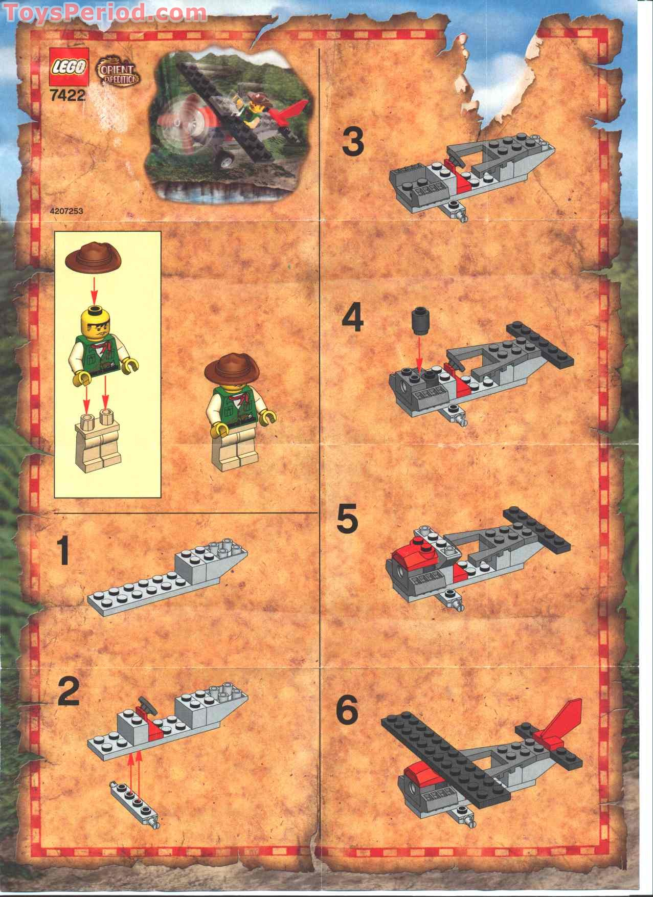 lego desert eagle instructions free