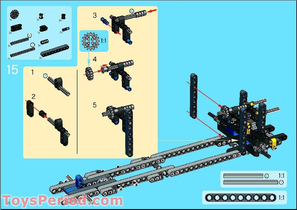 lego nxt crane building instructions