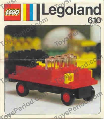 LEGO 610-1 Vintage Car Image 1