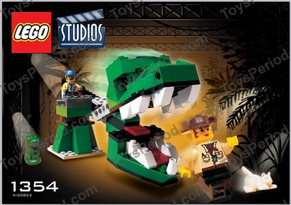 Lego 1354 Dino Head Attack Set Parts Inventory And