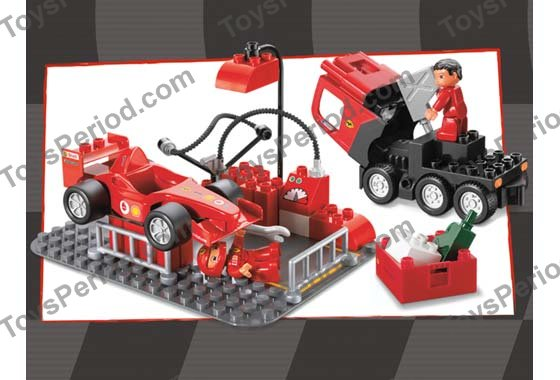 lego 4694 ferrari f1 racing team set parts inventory and. Black Bedroom Furniture Sets. Home Design Ideas