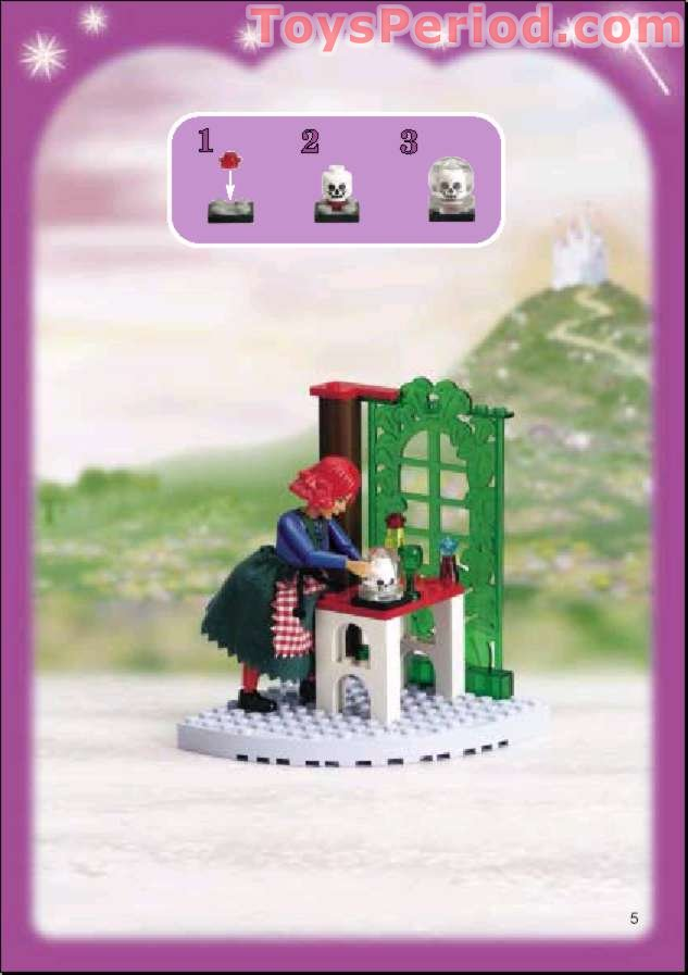Lego 5804 Witch S Cottage Set Parts Inventory And