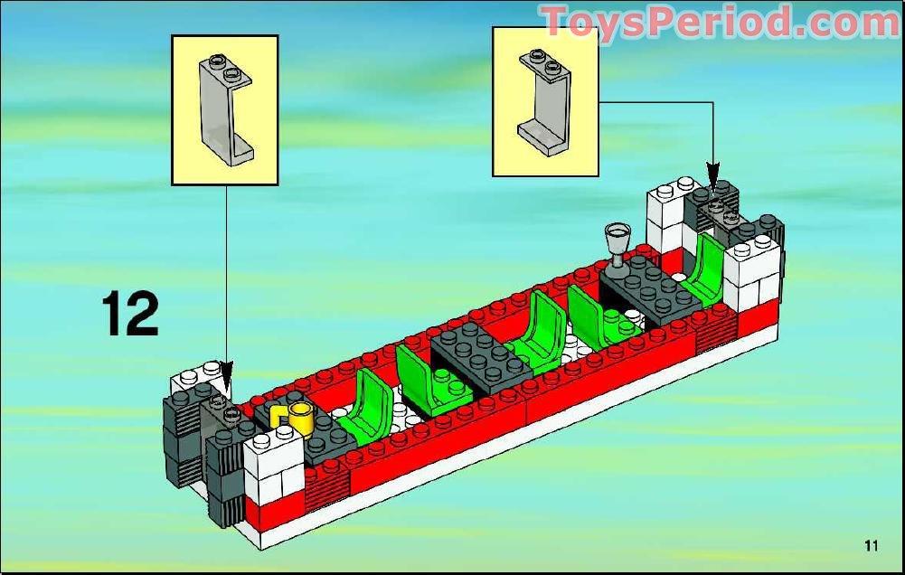 lego passenger train instructions
