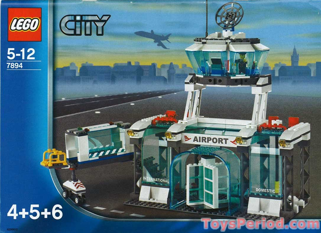 Lego 7894 2 Airport Ana Version Set Parts Inventory And