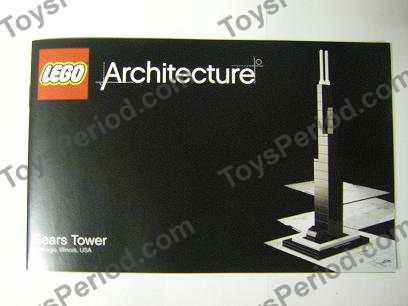 Lego 21000 Sears Tower Set Parts Inventory And Instructions Lego