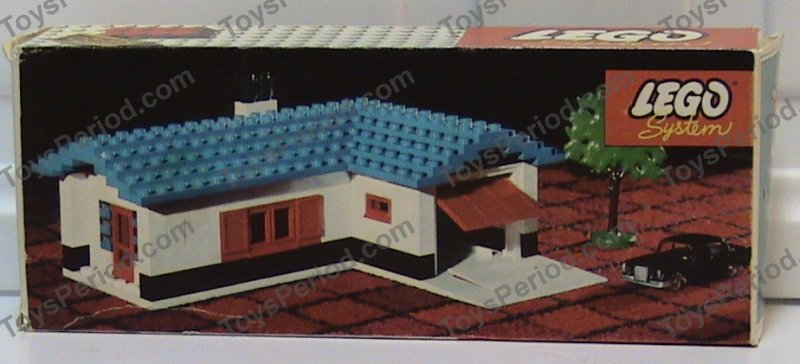 Lego 324 2 House With Garage Set Parts Inventory And Instructions