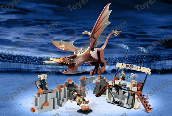 LEGO 4767 Harry and the Hungarian Horntail Set Parts