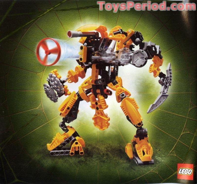 Lego 8755 Keetongu Set Parts Inventory And Instructions