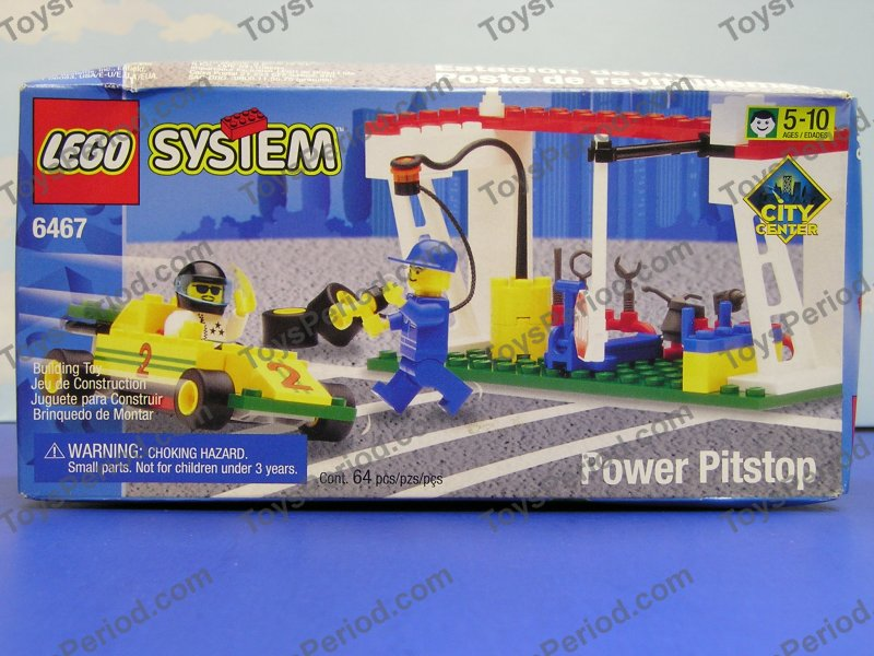Lego Car Racing Track