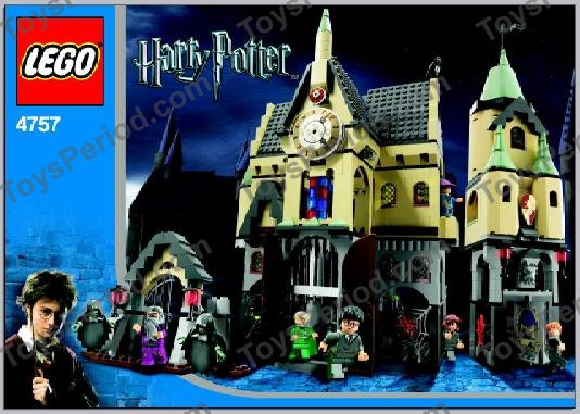 Lego 4757 Hogwarts Castle 2nd Edition Set Parts Inventory And